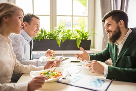 claiming on client or staff lunches
