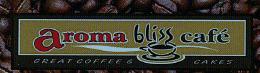 aroma bliss cafe logo